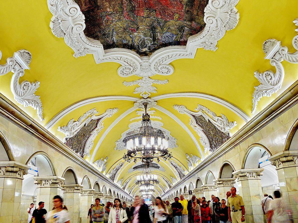 Moskovski metro - hir ranog socijalizma