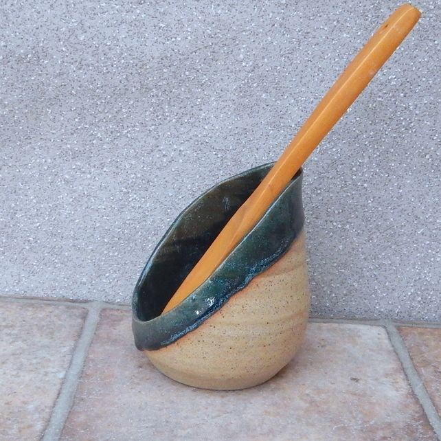 Spoon rest hand thrown spoonrest handmade stoneware pottery ceramic wheelthrown