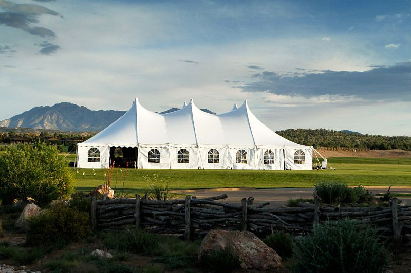 Outdoor Wedding Venue At Talking Rock In Prescott Arizona