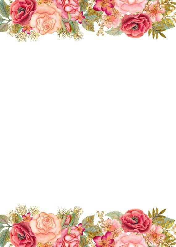 Jpg Wedding Templates For Commercial Use Rsvp Thank You Wedding Invite Save The Date Gold Glitter Rose Template With Blank Cards Molduras Para Convites De Casamento Convite De