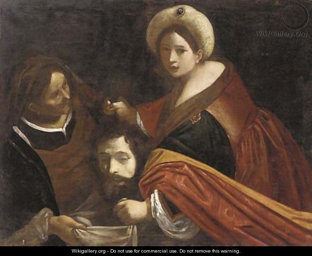 Judith with the head of Holofernes - (after) Giovanni ...