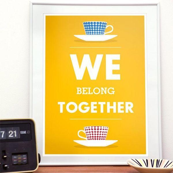 We belong togheter