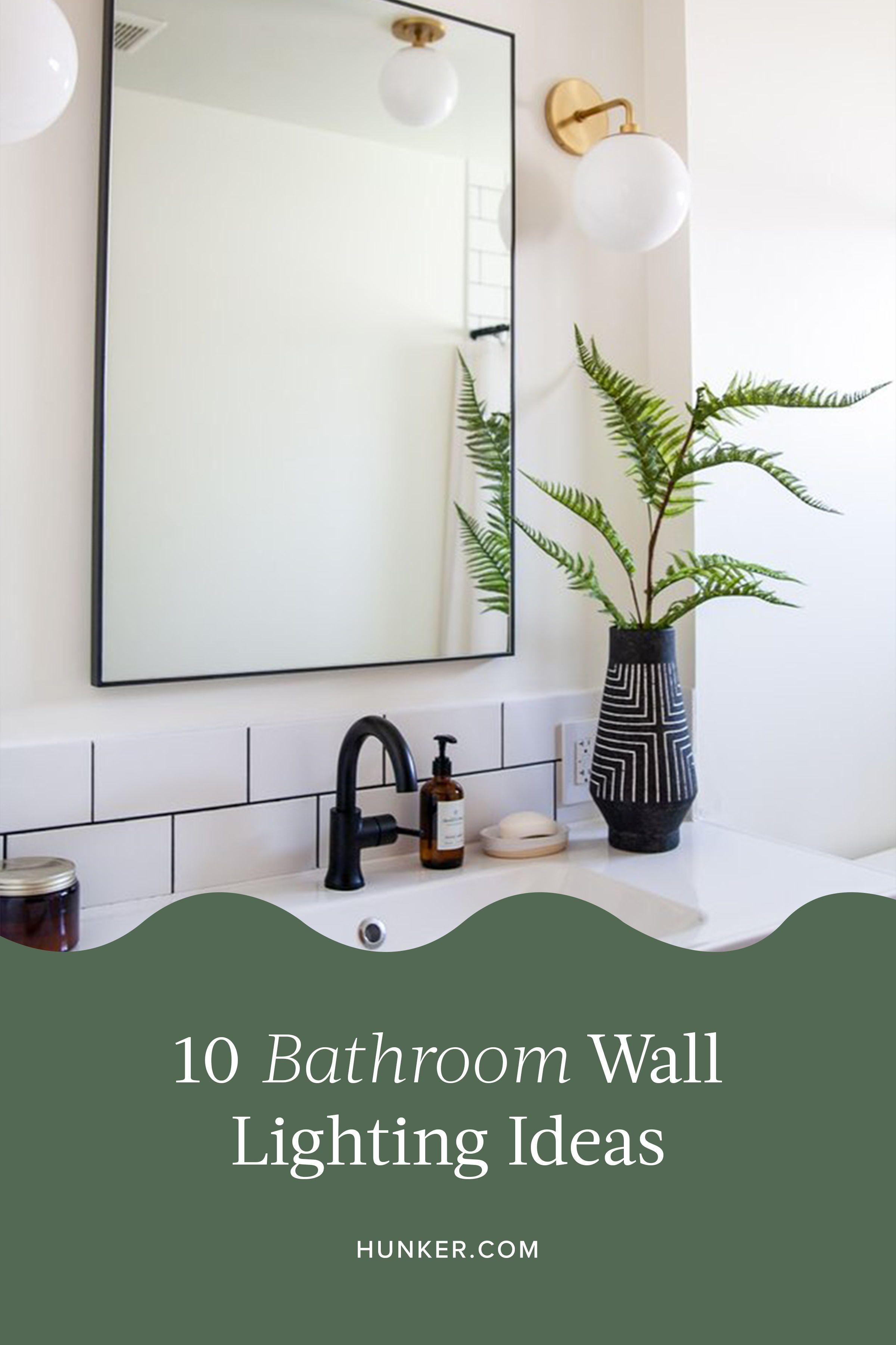 10 bathroom wall lighting ideas that