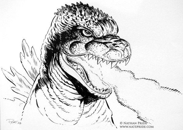 Download Godzilla Coloring Pages | Godzilla Party