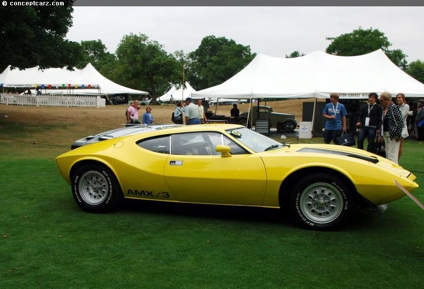 amx cars | 1970 AMC AMX III Images, Information and History (AMX/3 ...