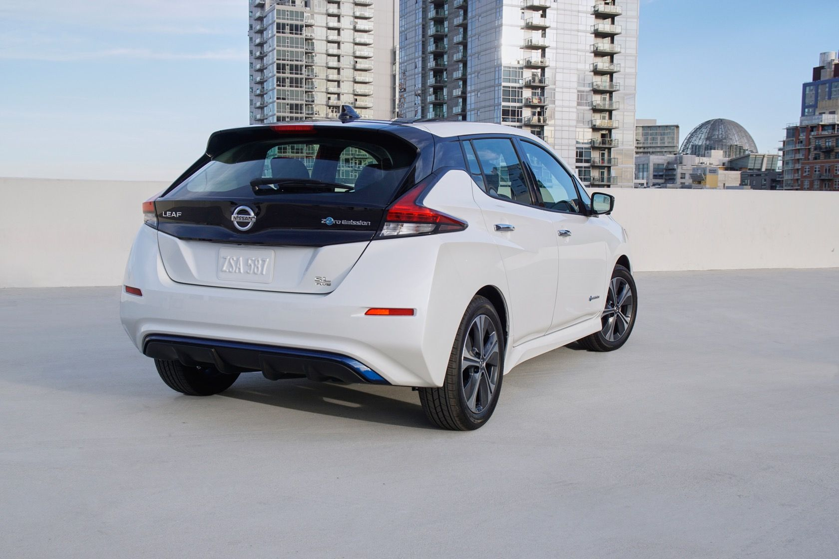 2019 Nissan Leaf Plus brings 226 miles of e+ range
