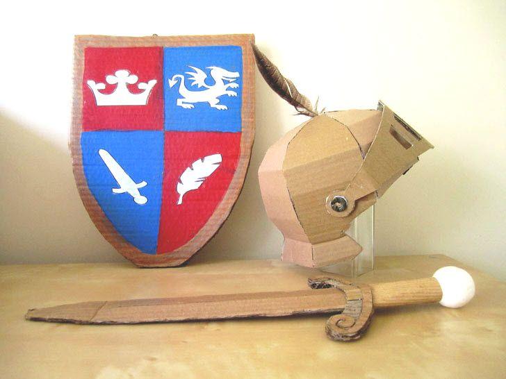 activite manuelle epee de chevalier