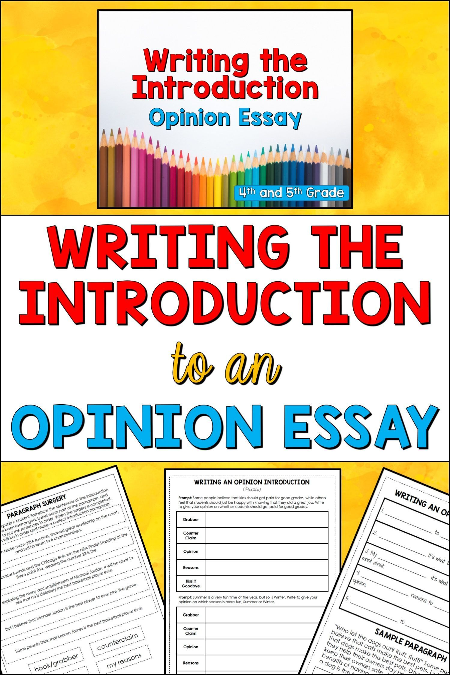 This Opinion Writing Powerpoint Will Help Your 4th And 5th