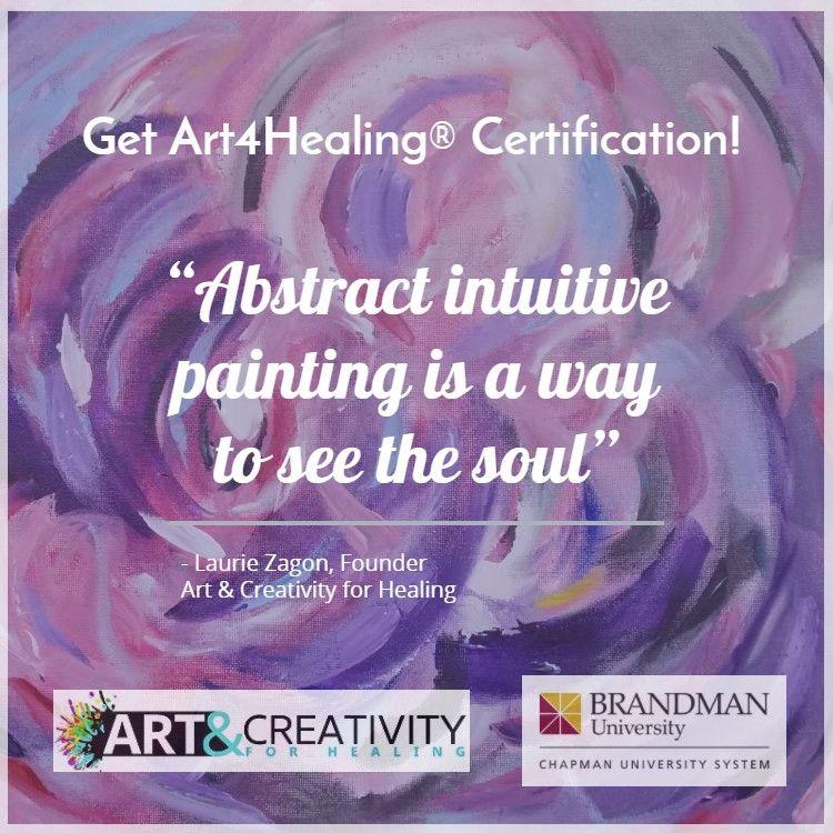 Get Art4healing Certification Art4healing Pinterest Expressive