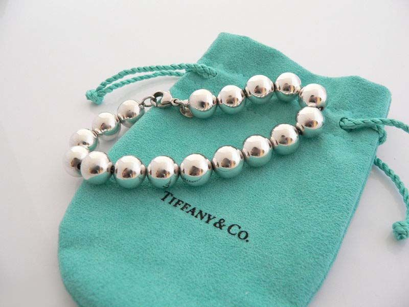 56ff8d8d9 Tiffany & Co Bead Ball Sterling Silver Bracelet...I have this bracelet and  wear it nearly every day. I guess you could say it's my signature piece :)