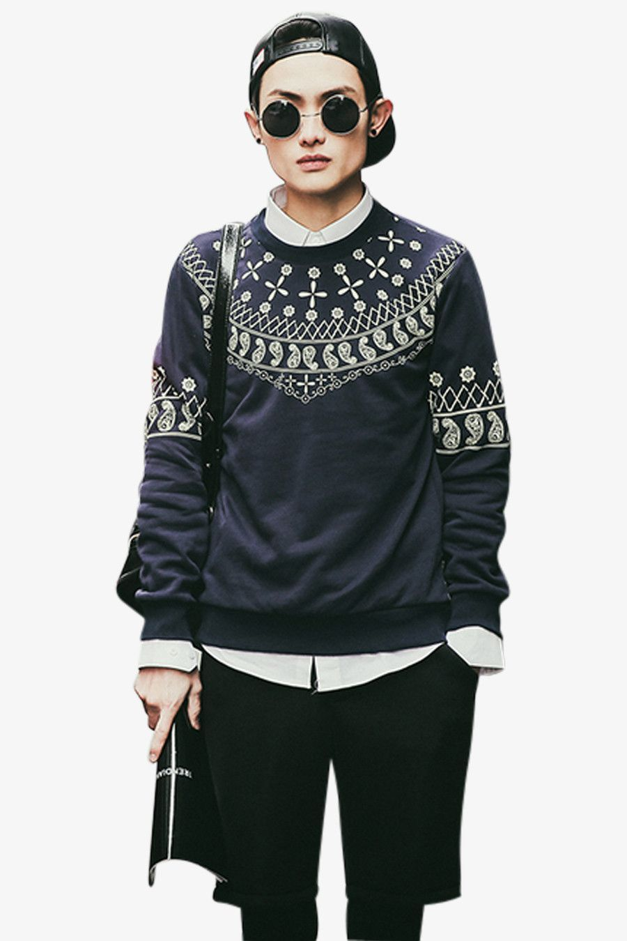 Men's Inspiration Printing Sweatshirt