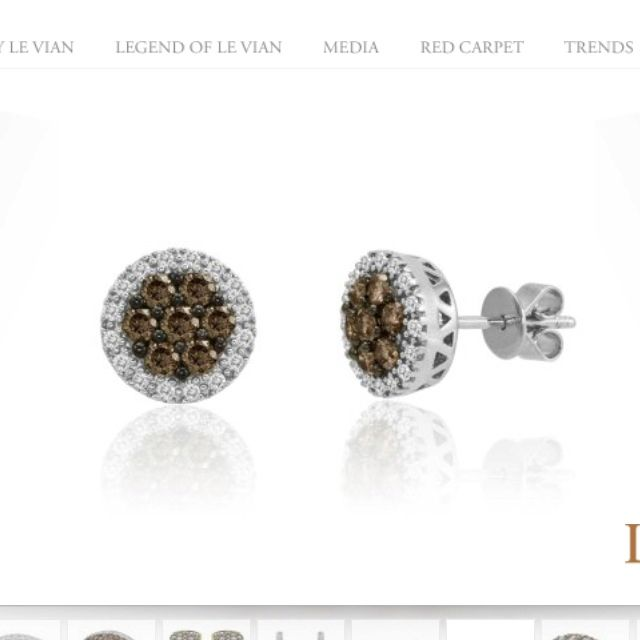 Le Vian Chocolate Diamond Earrings 3