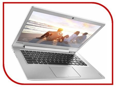Ноутбук Lenovo IdeaPad 510S-14ISK White 80TK0067RK (Intel Core i5-6200U 2.3 GHz/4096Mb/256Gb/Intel HD Graphics/Wi-Fi/Bluetooth/Cam/14.0/1920x1080/Windows 10)  — 55990 руб. —