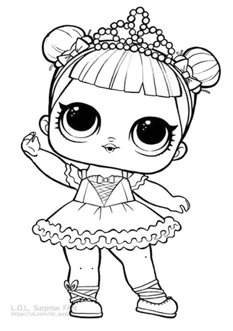 разукрашки куклы лол для девочек распечатать: 11 тыс ...