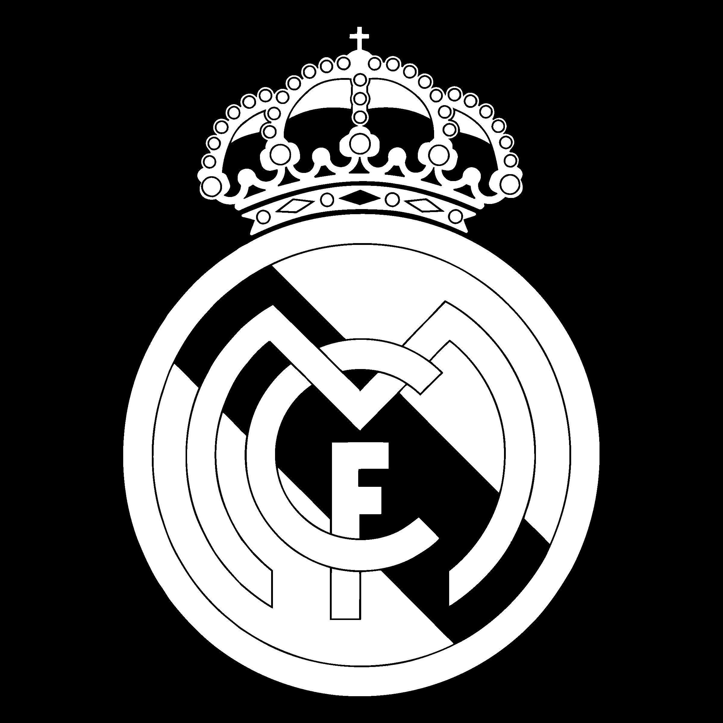Real Liga La Madrid Football C.F. Logo   Real madrid logo ...