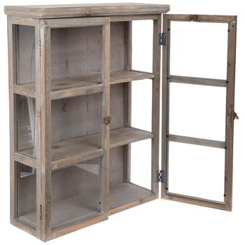whitewash wood wall cabinet | hobby lobby | 1818699 | diy