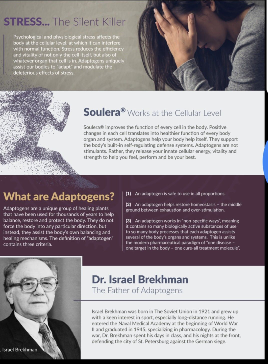 Soulera® The World's Most Researched Herbal Stress Formula … And We