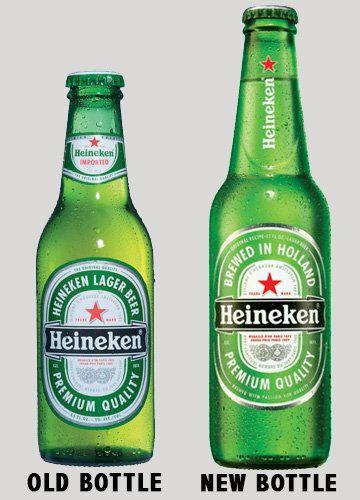 Heineken Launches New Bottle Will Other Beers Be Green With Envy Beer Heineken Bottle