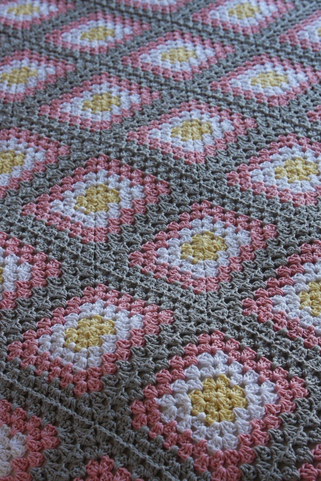 Granny Square Sprei Haken Crochet Pinterest Granny Square