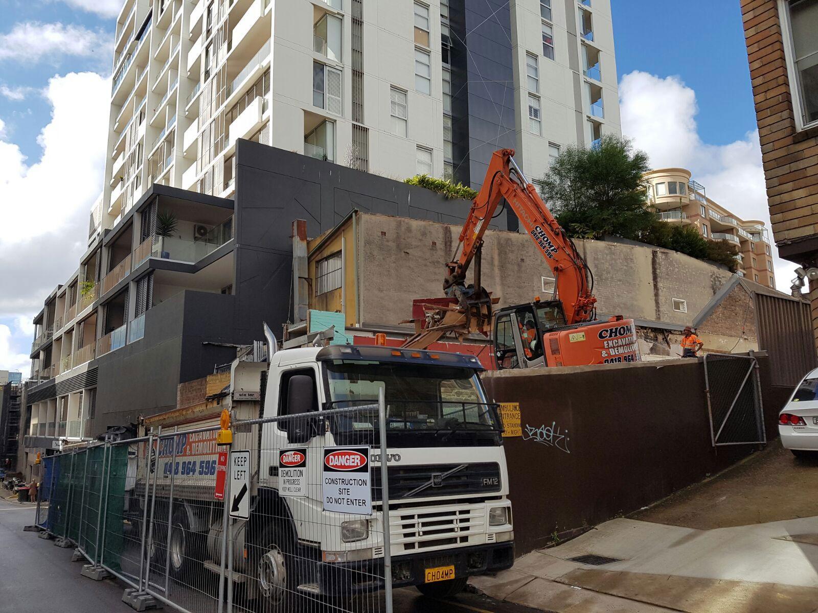 Company chomp excavation demolition demolition