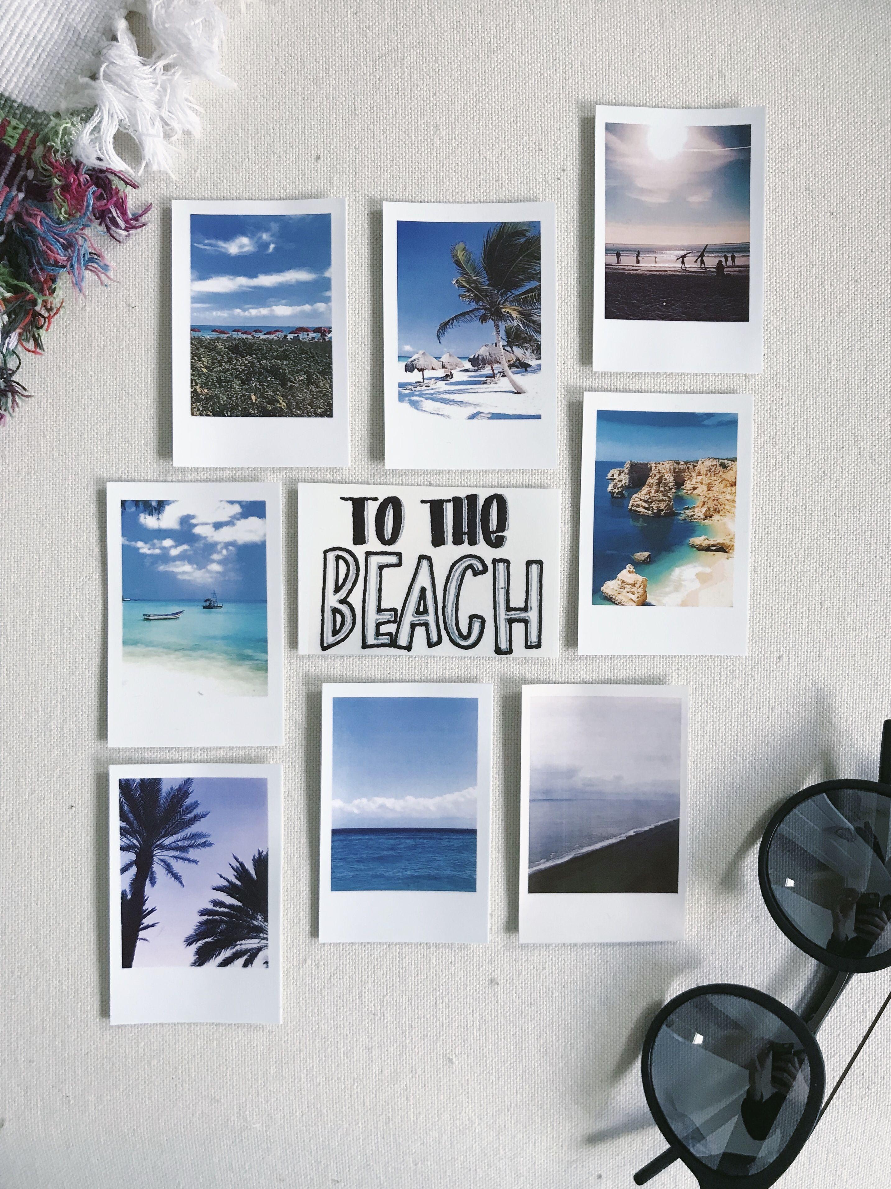 To The Beach Polaroid Snap Touch Polaroid Photography