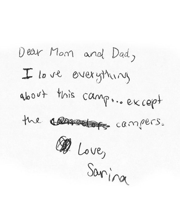 Day  MomMe Goes SugarFree  Camp Letters Kids Notes And Laughter