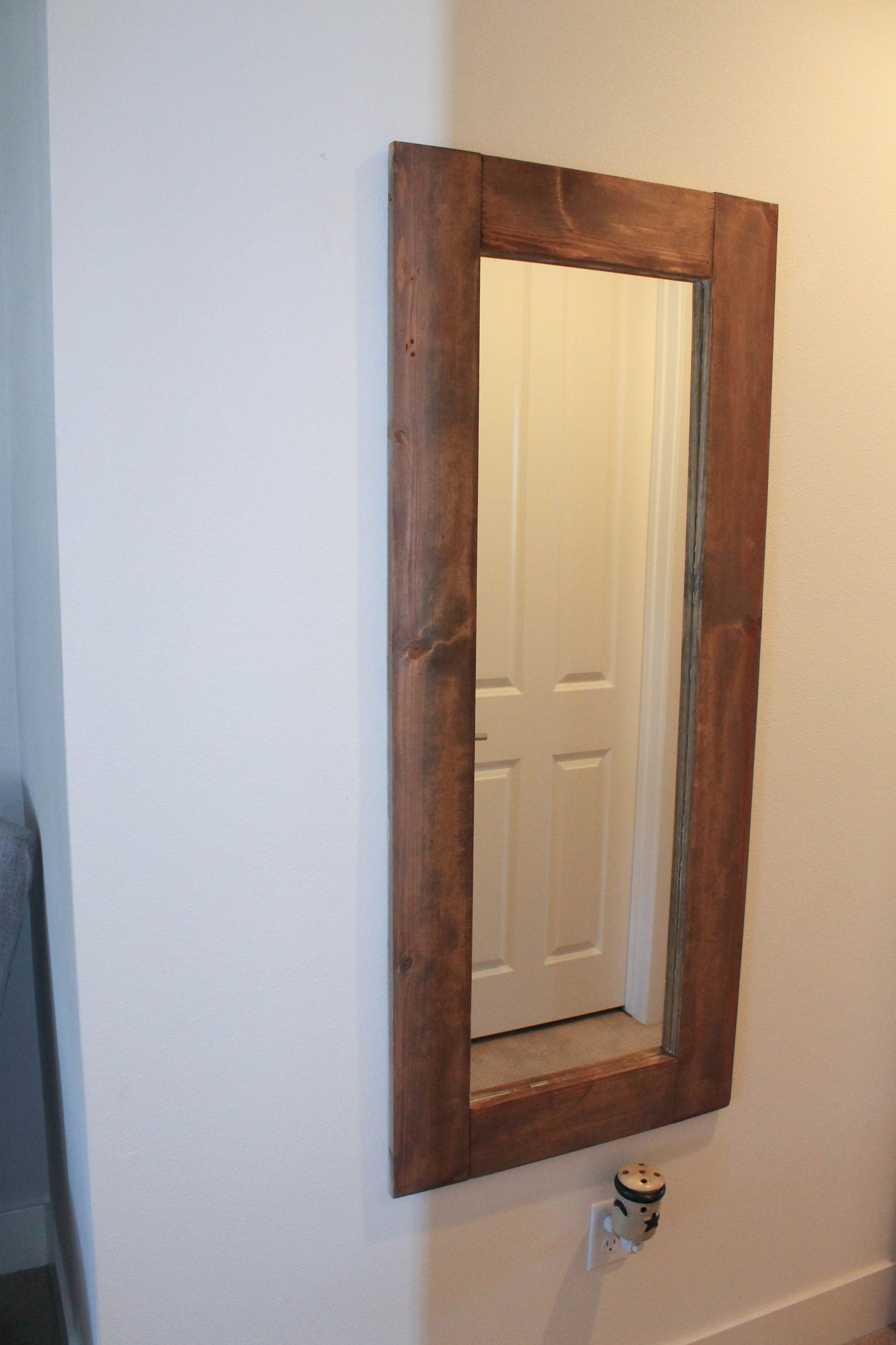This past weekend my project was framing this super cheap IKEA ...