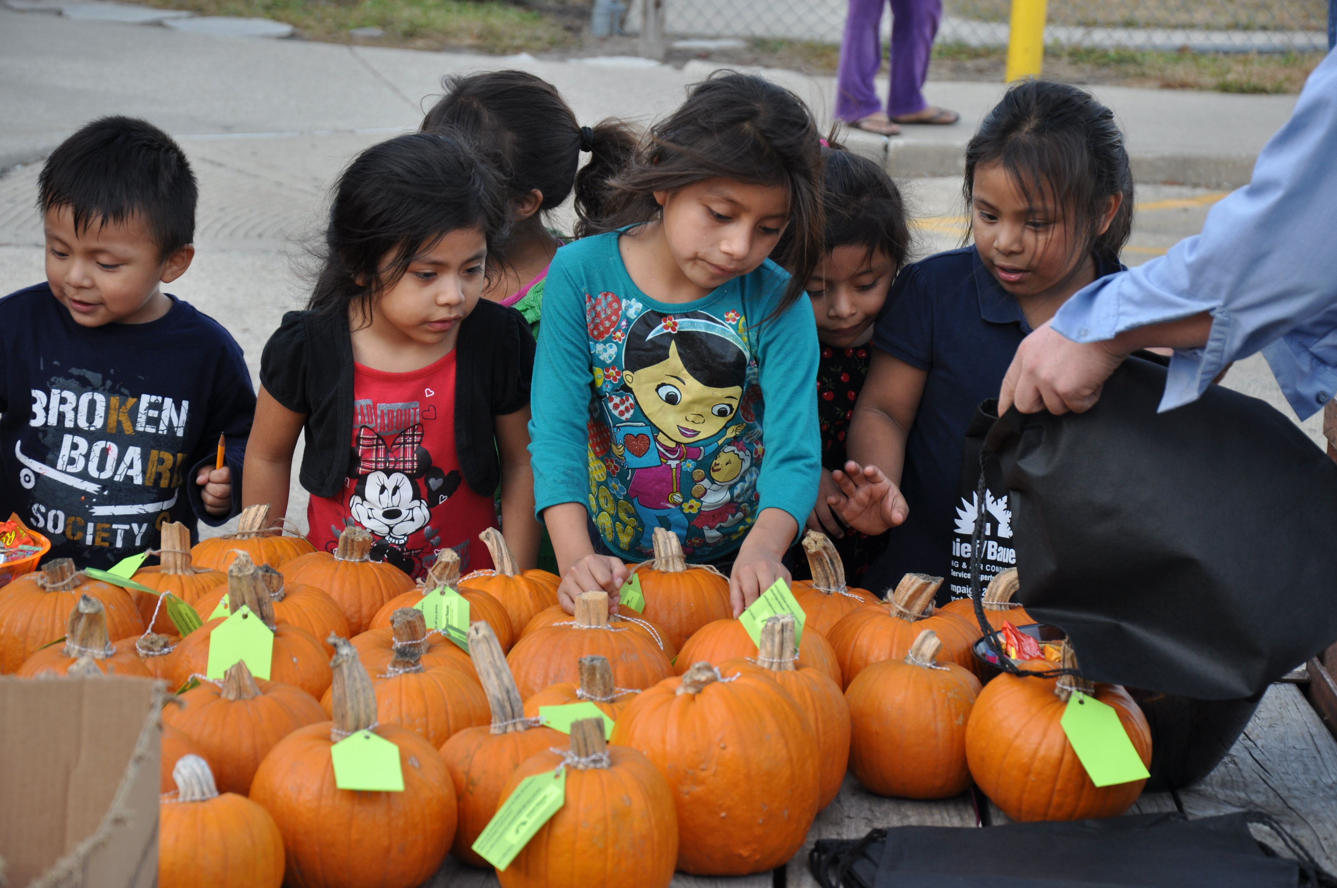 Chief Bauer Service Experts Gave Away More Than 100 Pumpkins And