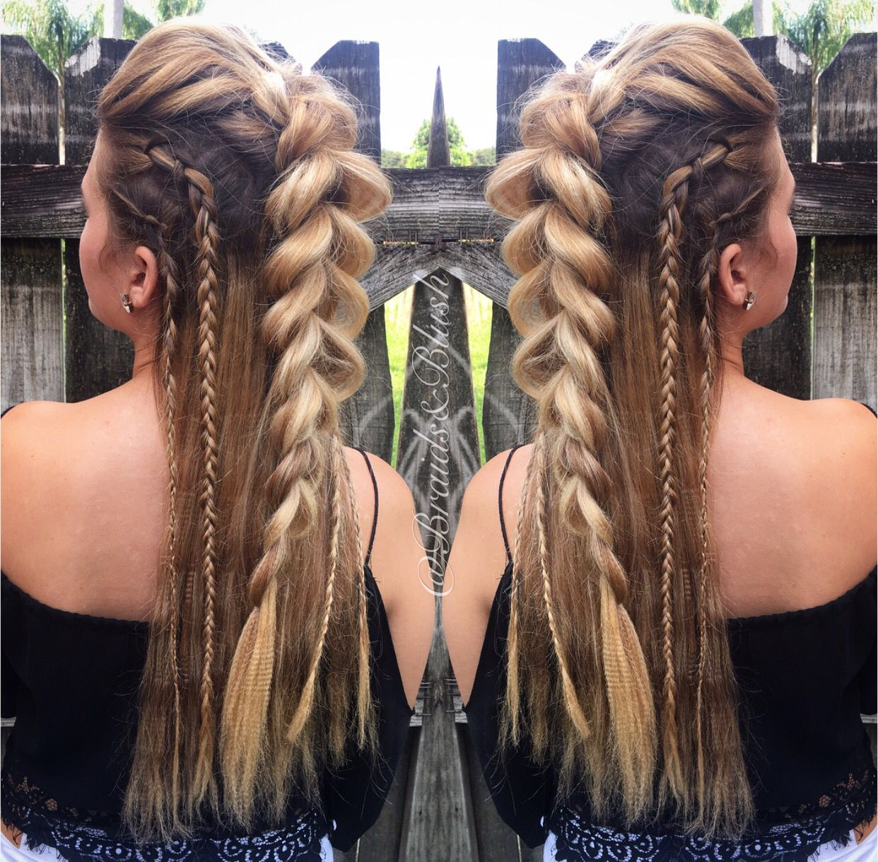 Donut know what to do with your hair check out this trendy ghana