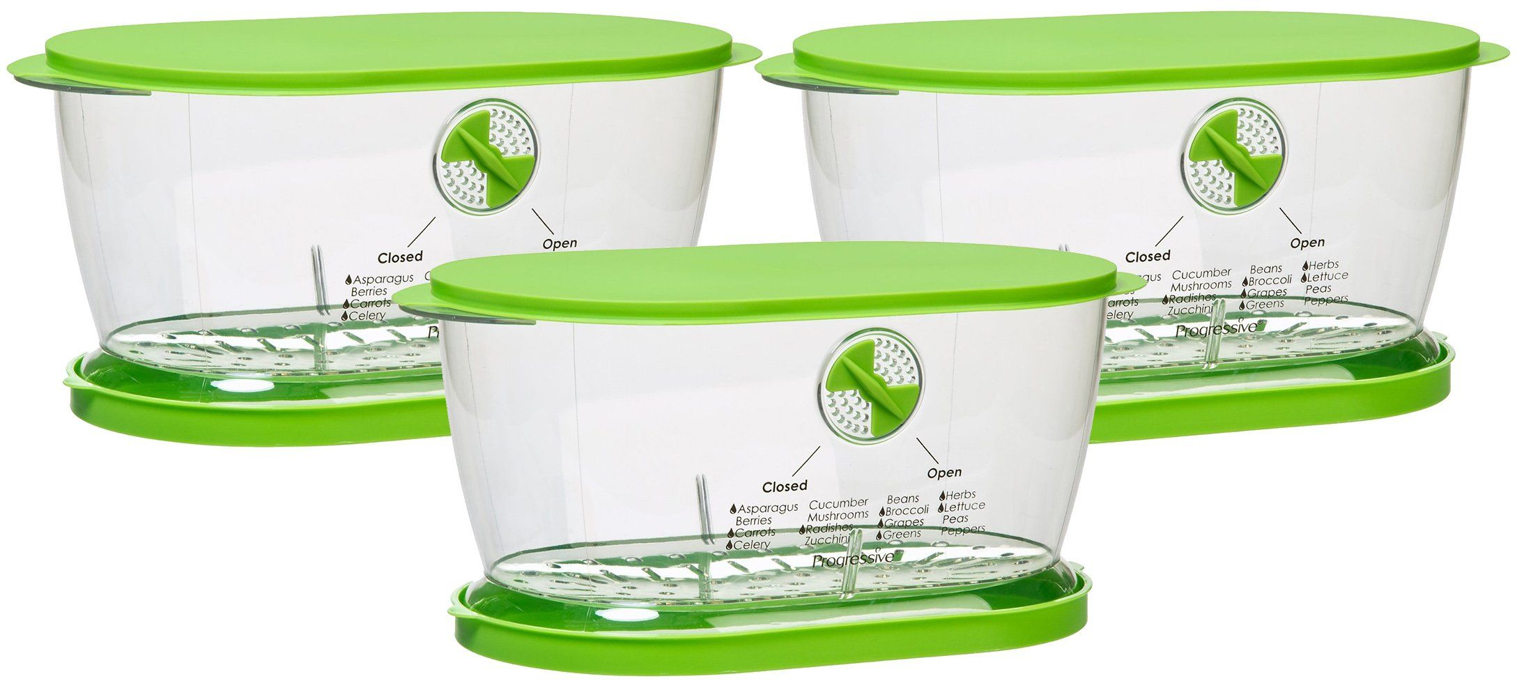 Prepworks from Progressive LKS-06 Lettuce Keeper(3 Pack)