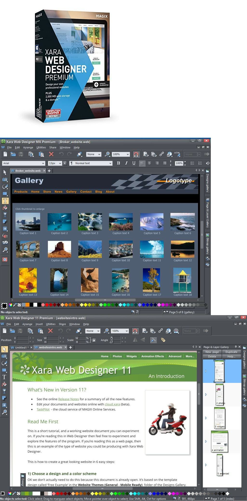 Xara Web Designer Premium 16 Digital Download Web Design Digital Download Wholesale Lots