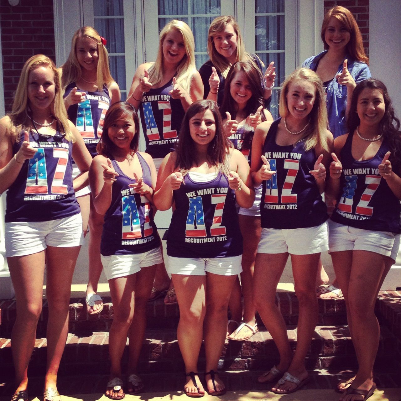 "USC DZ Recruitment Tanks ""We Want You"" #deltazeta"