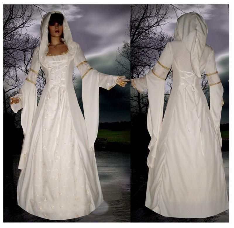 Reife Brautfrau des Kleides