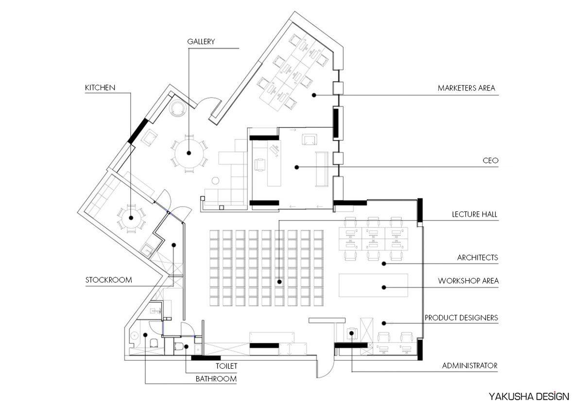 Ya Vsesvit Co Working Space By Yakusha Design