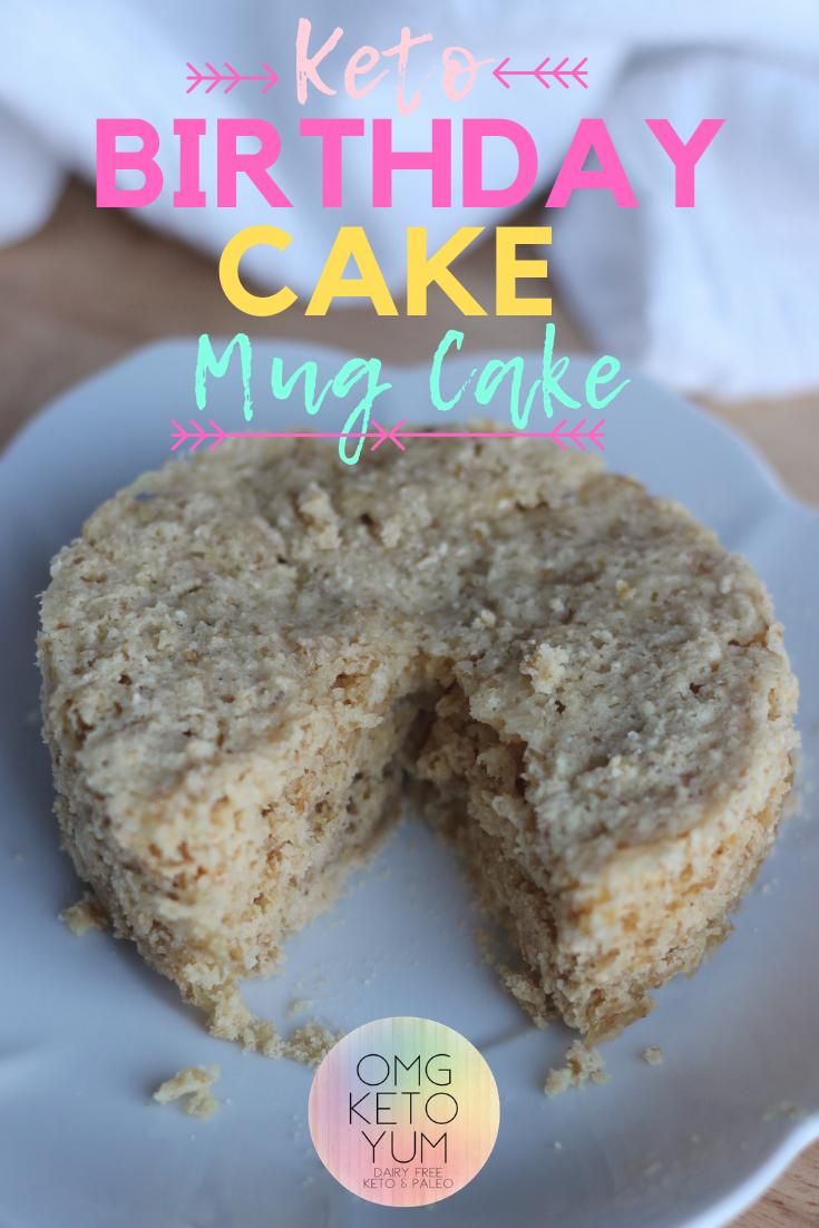 Birthday Mug Cake : Make this Eggless Mug Cake in minutes ...
