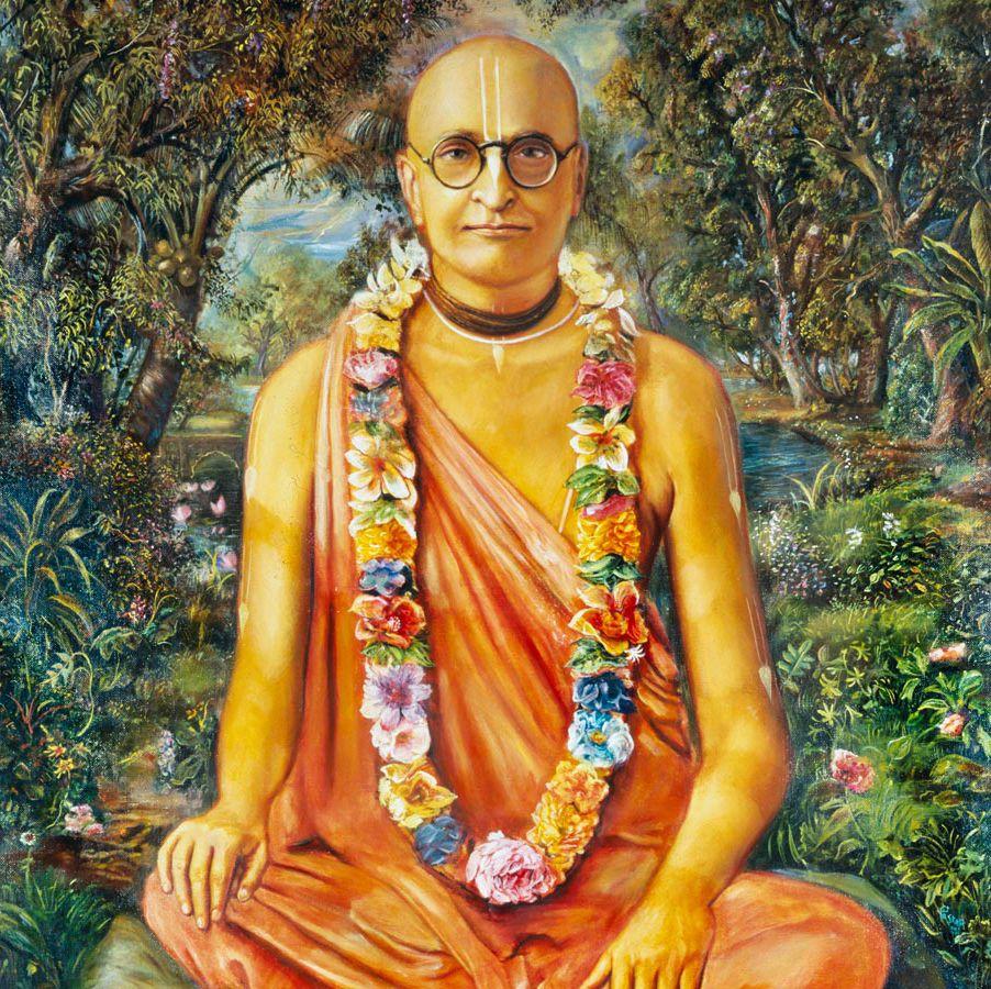 Srila Prabhupada Guru- Bhaktivedanta saraswati