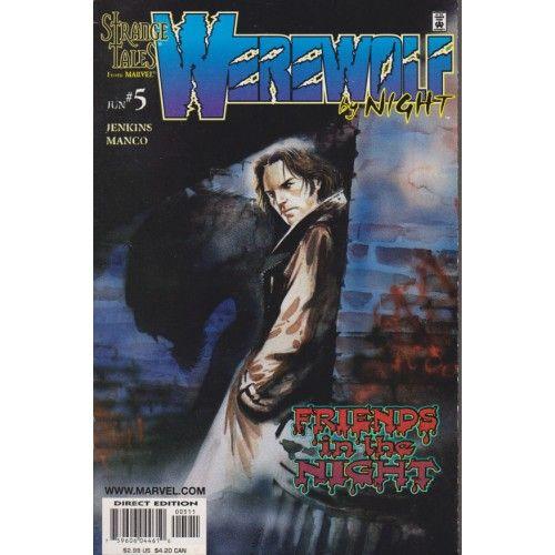 WEREWOLF BY NIGHT #5 | Strange Tales | 1998 | VOLUME 2 | MARVEL | $3.60