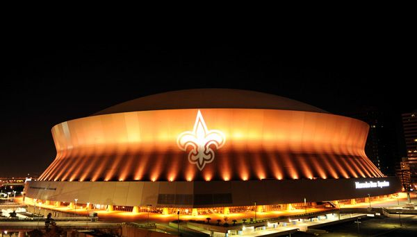 Mercedes Benz Superdome At Night New Orleans Events New