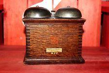 Vintage 1914 Western Electric Oak Telephone Ringer Box