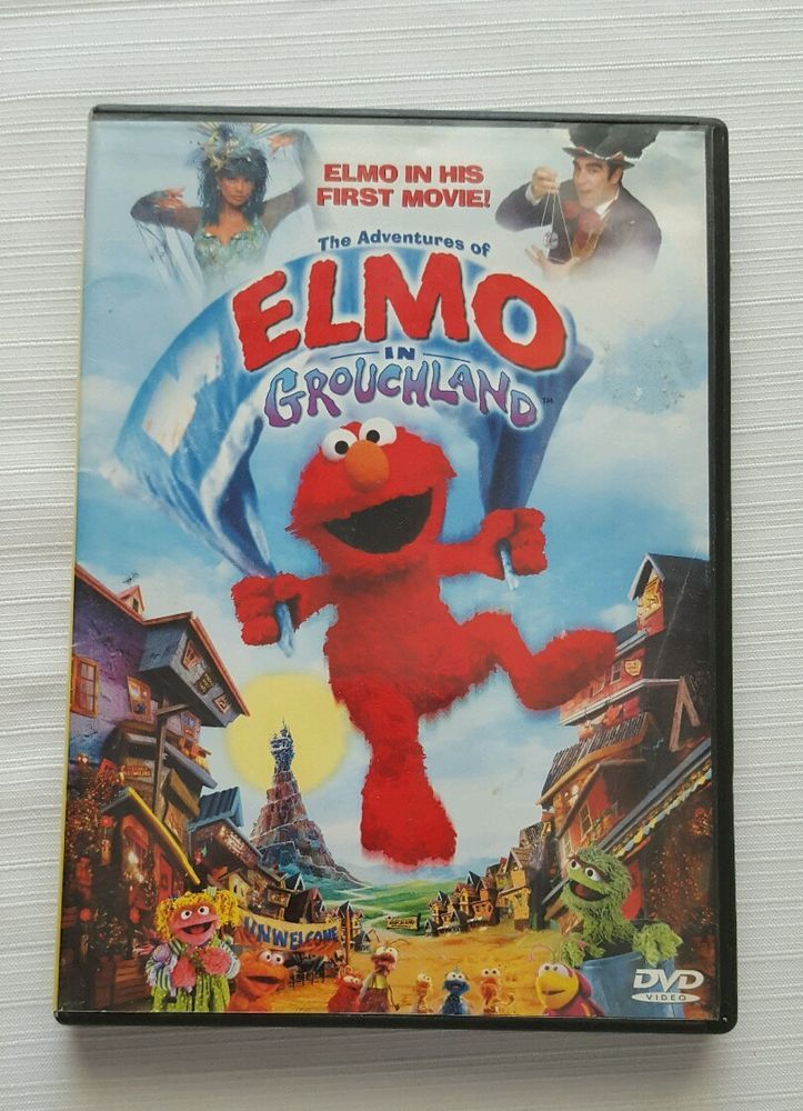 The Adventures Of Elmo In Grouchland Dvd 1999 Full Screen In Dvds Movies Dvds Blu Ray Discs Ebay Elmo Dvd Adventure