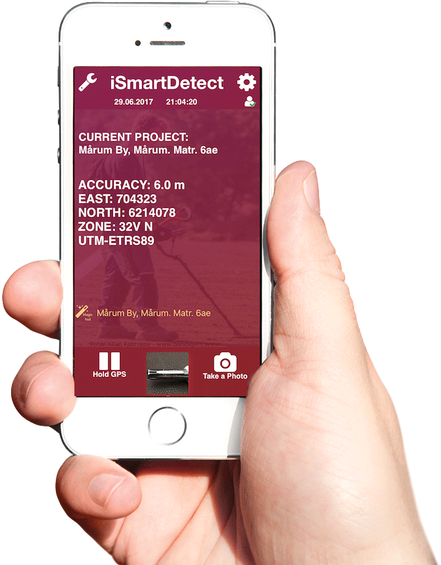 iSmartDetect™ Metal Detector App For iPhone & Android