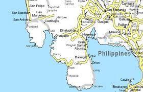 Map Of Bataan Philippines Google Search Cry Havoc Bataan Map