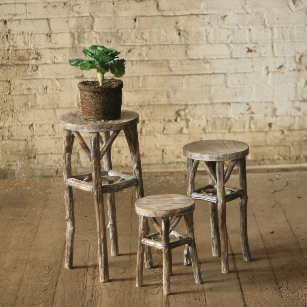 Duquense round piece plant stand products pinterest products
