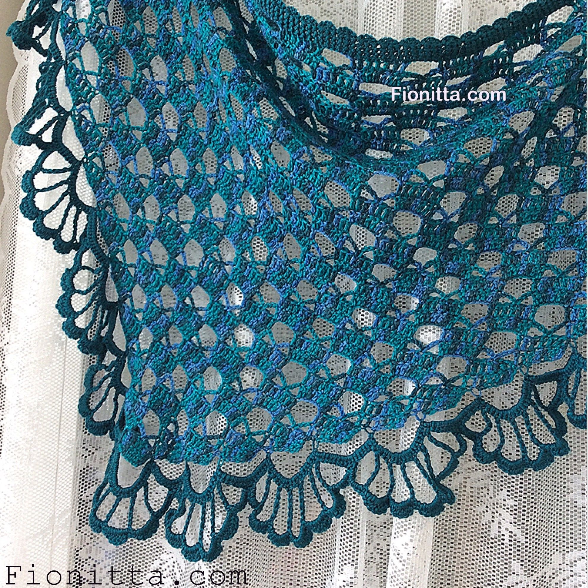 "The March shawl ""Hello March"" 