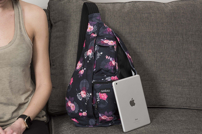 Ambry rope sling bag canvas bag with adjustable shoulder