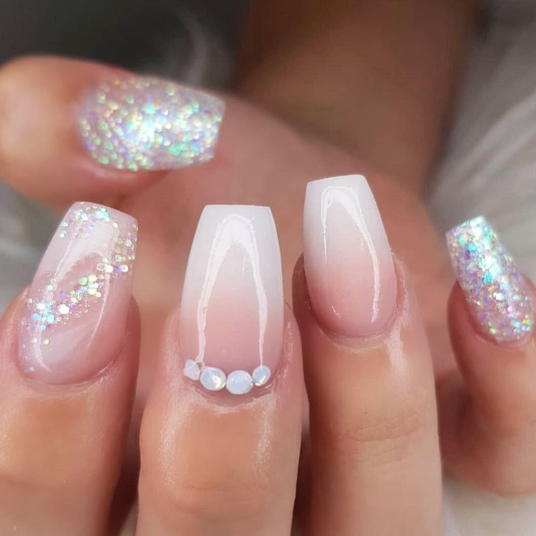 Fabulous nail art design ideas - Ombre pink nail #nail #nailart #acrylicnail #nails #manicure