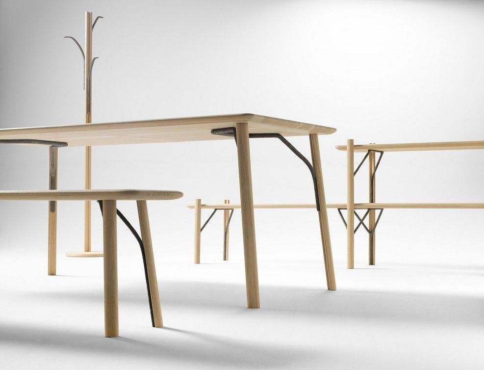 Collection De Mobilier Kea Par Jean Louis Iratzoki Et Ander Lizaso De L Atelier Alki Au Pays Basque Avec Images Mobilier Design Table A Manger Moderne Mobilier De Salon
