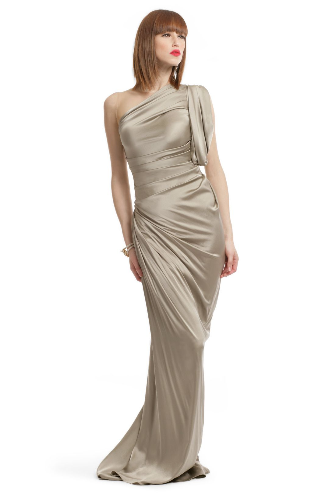 Stone Statue Draped Gown vera wang | Ideas - style | Pinterest ...