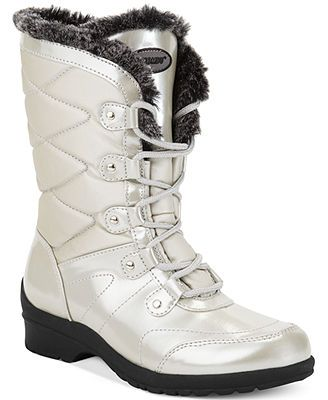 6194200290d Khombu Angel Cold Weather Faux-Fur Booties for my sister! | Macy's ...