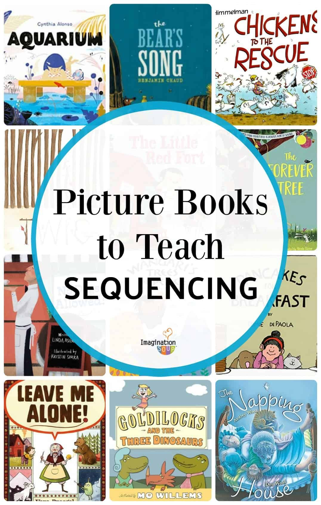 Picture Books To Teach Sequencing Beginning Middle And End Kindergarten Books Mentor Texts Preschool Books Best short read aloud books for 2nd